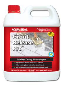Grout Release Pro™ Pre-Grout Coating & Release Agent