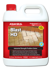 Blast HD, Industrial Strength Problem Solver, Removes Red Soil, smoke, soot, hydrocarbons, rust, mineral deposits, bore water stains