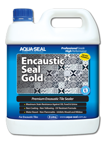 Encaustic Seal Gold
