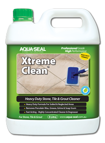 XTREMECLEAN, removes porcelain wax, removes wax coatings, heavy duty cleaner, heavy duty tile and grout cleaner, heavy duty stone, tile and grout cleaner, heavy duty cleaner and degreaser