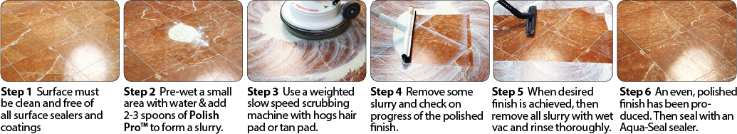 Step By Step Guide to Polishing Floors using Polish Pro
